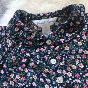 Beautiful Floral Ralph Lauren Dress 9 Months